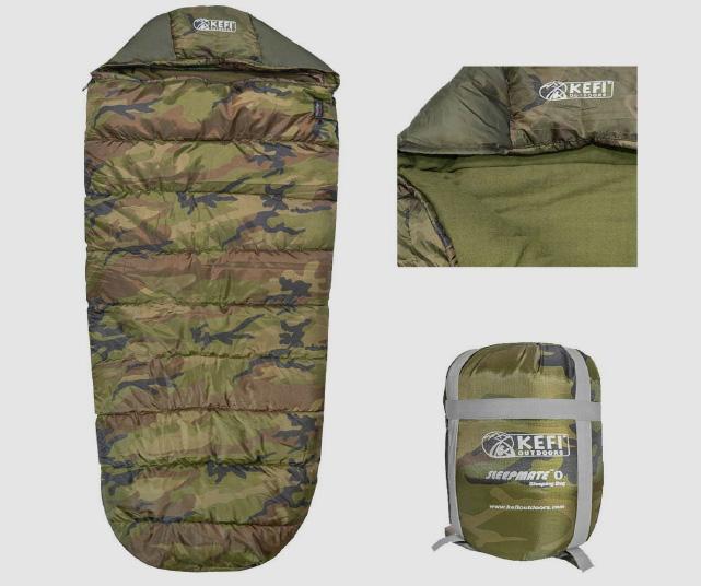 Kefi-Outdoors-Water-Resistant-Sleeping-Bag